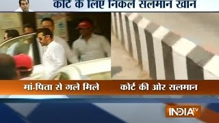 2002 Hit-and-Run Case: Salman Khan Leaves for Sessions Court - India TV