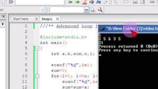 Bangla C programming tutorial  38  Advanced Loop for Programming Contest
