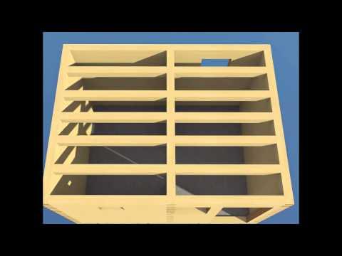 Как построить баню 3х4 из бруса