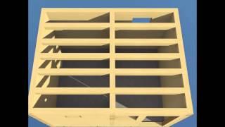 Как построить баню 3х4 из бруса(Как построить баню 3х4 из бруса своими руками. Пошаговая технология строительства небольшой и симпатичной..., 2015-06-13T13:50:41.000Z)