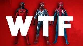 Spider Man PS4 DLC Suits - Insomniac WTF ARE YOU DOING?!