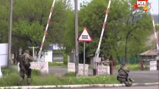 Видео очевидца: Ополченцы Славянска отражают нападение украинской армии