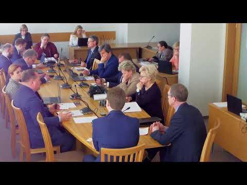 2019-04-24 Teisės ir teisėtvarkos komiteto posėdis