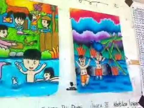 Pemenang Lomba Menggambar Di Pgsd Unlam Bjb Hardiknas 2012 Youtube