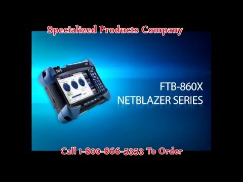 EXFO FTB-860 NetBlazer Product Demo for FTTH and Ethernet Testing