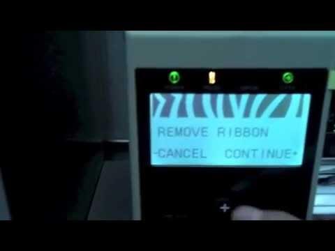 Zebra Thermal printer repair Z4MPLUS DT blank screen by