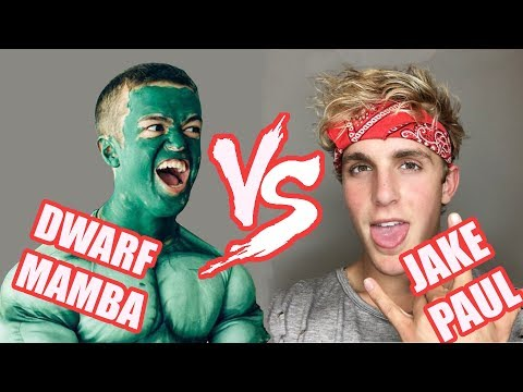 Thumbnail: Dwarf Mamba Vines VS Logan Paul's Brother :P (Jake Paul) Vines | Who Is The Winner?