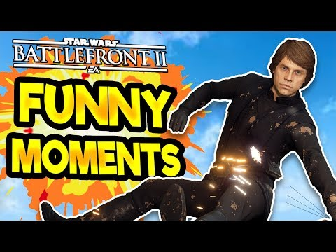 Star Wars Battlefront 2 Funny Moments Montage [FUNTAGE] #22 - Funny Campain