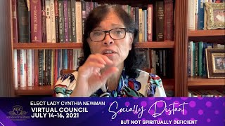 MINISTERS' WIVES | ELECT LADY CYNTHIA NEWMAN