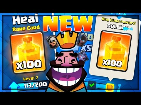 New HEAL SPELL DRAFT Challenge - Clash Royale Update!