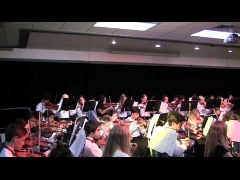 Final String Ensemble Concert 8th Grade Newhart Middle School 2015 Part 1