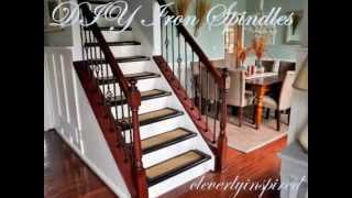 Diy Iron Spindles: Staircase Remodel