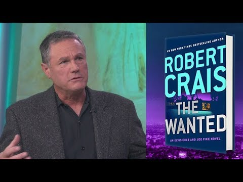 Bestselling Author Robert Crais 17th Elvis Cole and Joe Pike novel 'The Wanted'