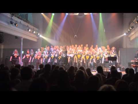 Madcon 'Beggin' cover by Edinburgh's Got Soul Choir - Dec 2014