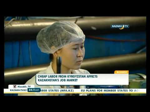 Cheap labor from Kyrgyzstan affects Kazakhstan's job market