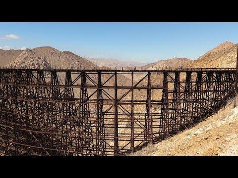Worlds biggest trestle  bridge & camping at a nudist resort