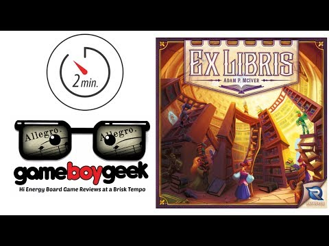 Ex Libris (Allegro 2-min) Review with the Game Boy Geek