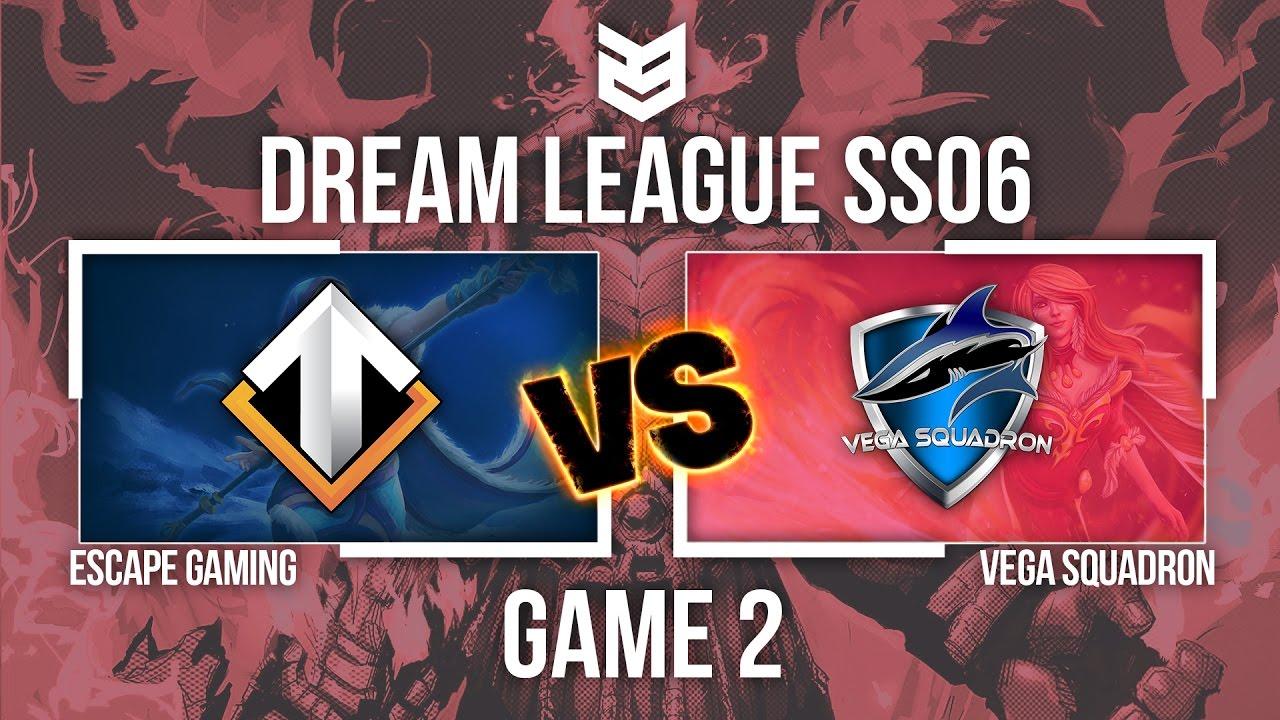 23 Creative | Dream League SS6 | ESC vs Vega Game2 | Caster KAH - Tomia