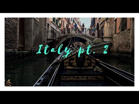 ITALY TRAVEL VLOG|| Pt. 2 (Verona, Venice, Florence)