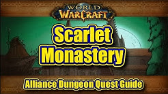 Classic WoW: Scarlet Monastery, Alliance Quest Guide