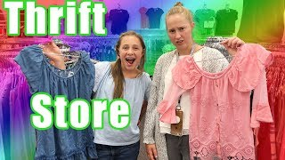 Teen Thrift Store Outfit challenge!! Find a back to school outfit (no budget)
