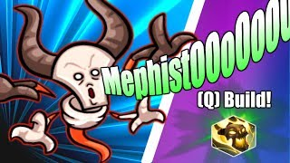 HOTS Mephisto Guide of Abilities and Talents! Part 1 Q Build (Heroes of the Storm Mephisto Gameplay)