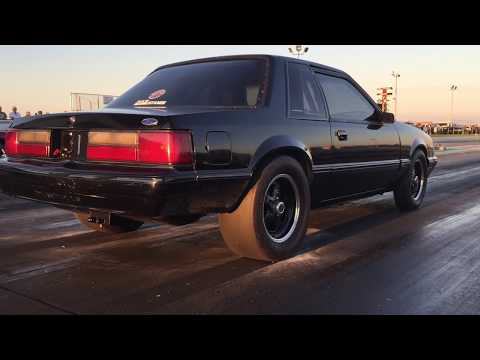 88 Ford Mustang Coupe 302 Stock Bottom End Turbo 10.31 @ 130 On3