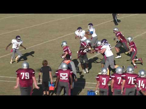 2017 - Thomas Gregory #12 (Game 5 vs Fairforest Middle School)