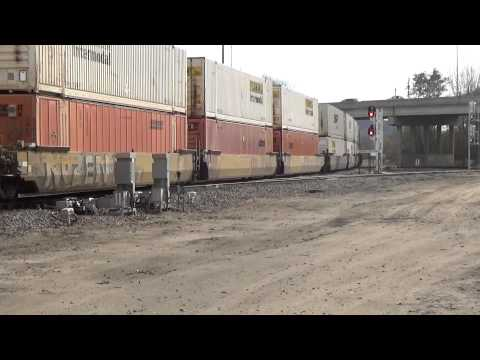 Railfanning CN BNSF CP in Iowa and Wisconsin 10-26-15