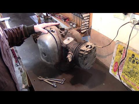 Часть 1 Ремонт двигателя мотоцикла М-72 ,К-750 ,МВ-750 ,Днепр-12
