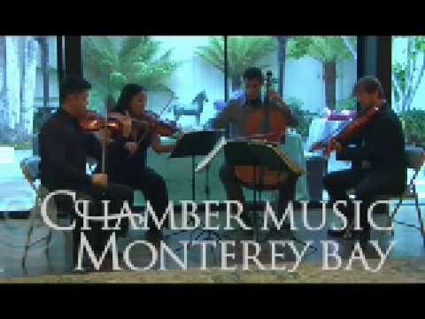 Chamber Music Monterey Bay - Miro String Quartet 1
