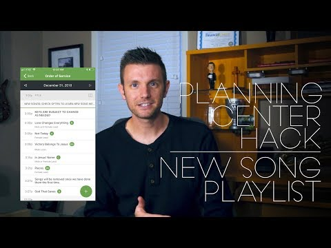 Planning Center Hack - Best Way to Share New Songs