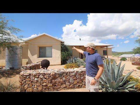 Rainwater Harvesting Full System Tour - Southern Arizona