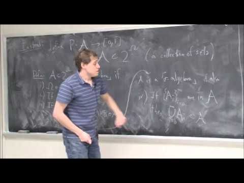 Mini Lecture #1 - Why use measure theory for probability? (Part 2)