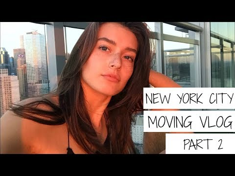NYC Moving Vlog Pt 2 | Jessica Clements