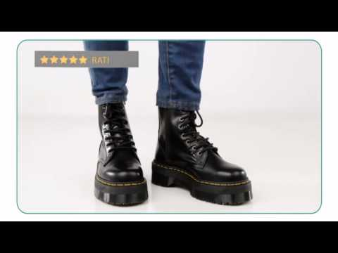 e3cd5952694 Dr. Martens Jadon 8 Eye Boot Unisex - Planetshoes.com - YouTube