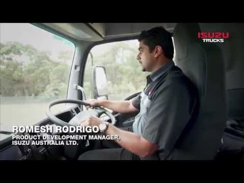 Isuzu F Series Demonstration & Explanation 7: AMT Demonstration - Isuzu Australia Limited