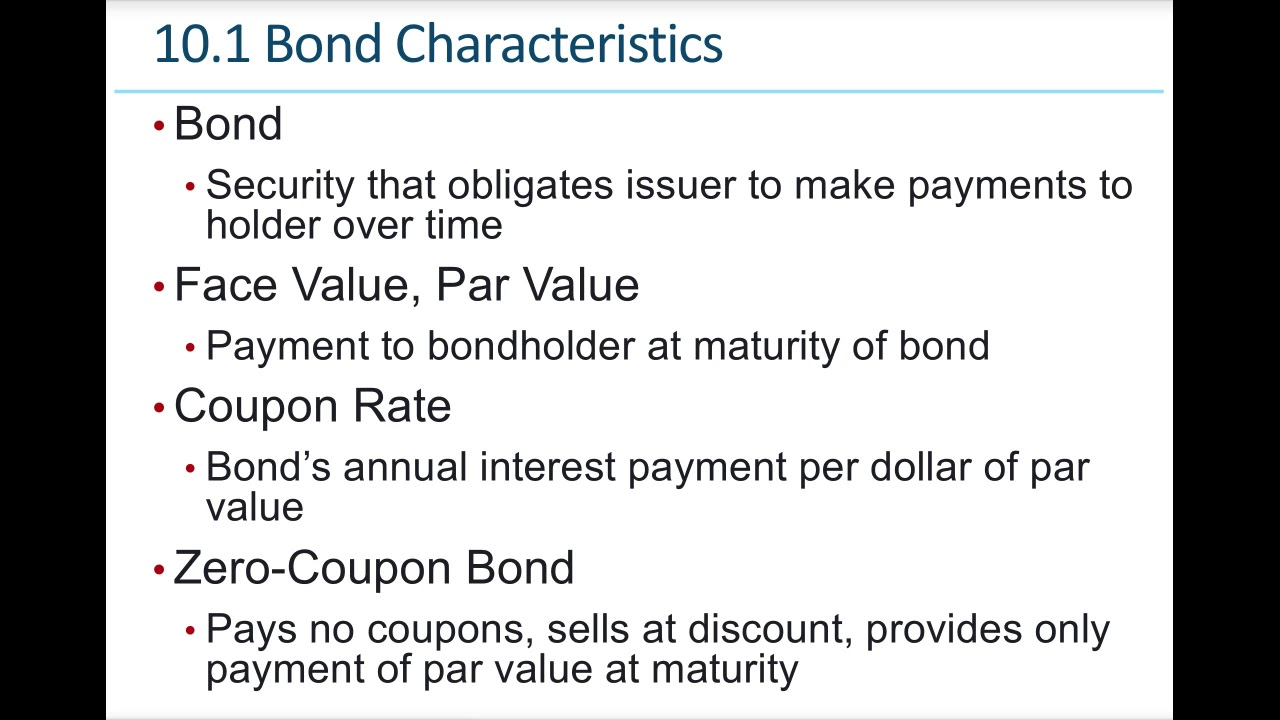 Download Essentials if Investments Ch10 Bond Prices and Yields