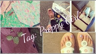 Preppy Girl Tag Thumbnail