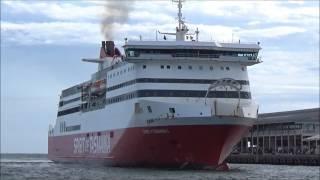 Spirit of Tasmania arriving in Melbourne,11th of Feb,2017