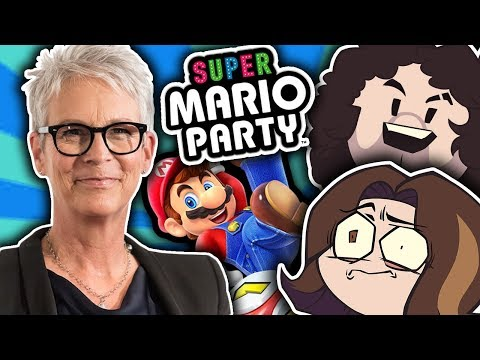 Playing Super Mario Party w/ JAMIE LEE CURTIS!