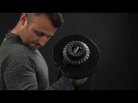 MuscleSquad 32.5kg Adjustable Dumbbell