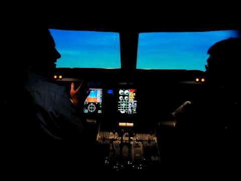 Embraer E190 simulator