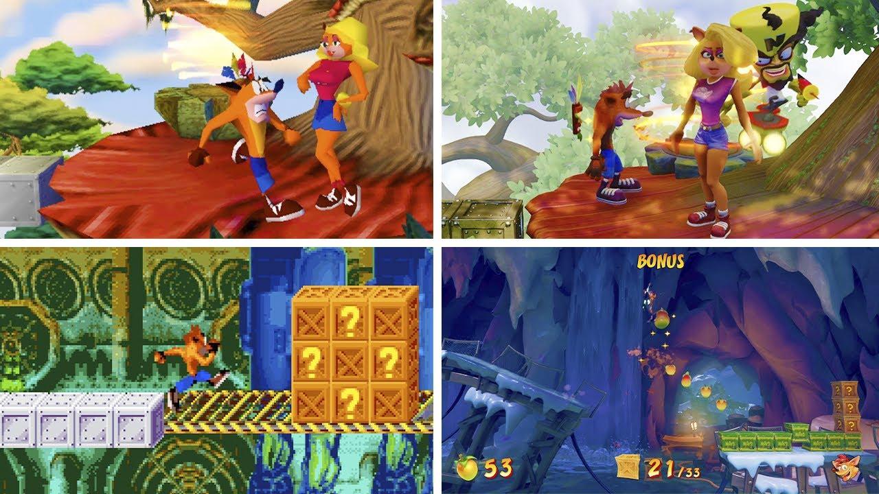 Evolution of Bonus Stage in Crash Bandicoot (1996-2020)