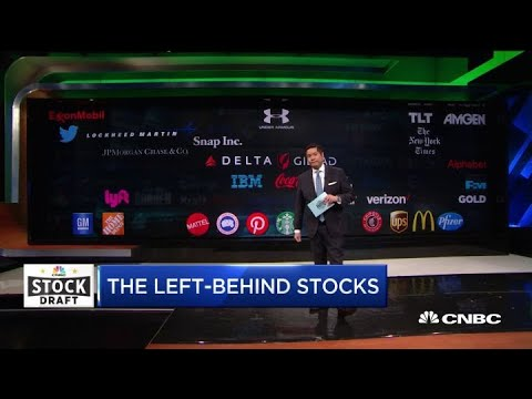 Here's the stocks that were left behind during CNBC's 2019 Stock Draft