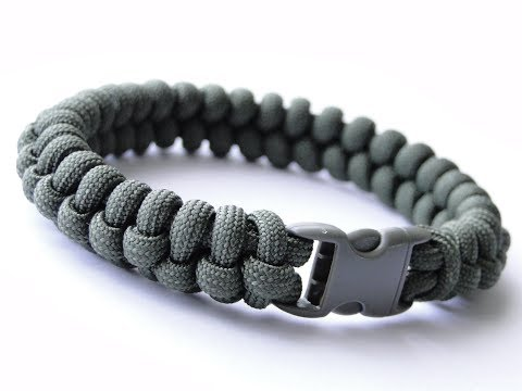 How to make The Snake Knot Viceroy Paracord Survival