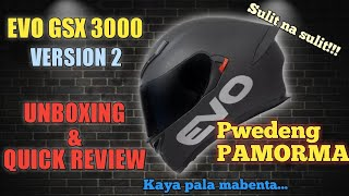 EVO GSX 3000 V2 MATTE BLACK |UNBOXING| QUICK REVIEW|Sir Clarky24