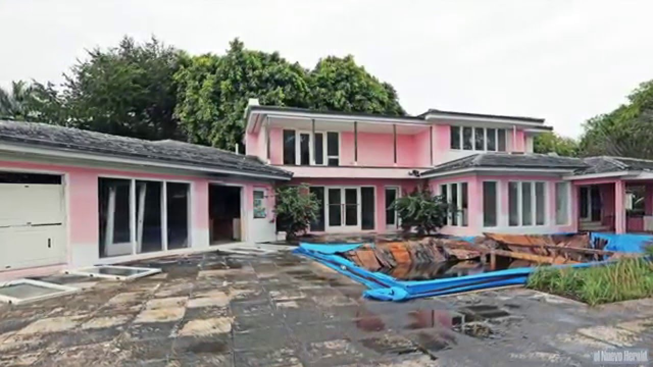 Delightful Colombian Drug Lord Pablo Escobaru0027s Old House In Miami Beach To Be  Demolished
