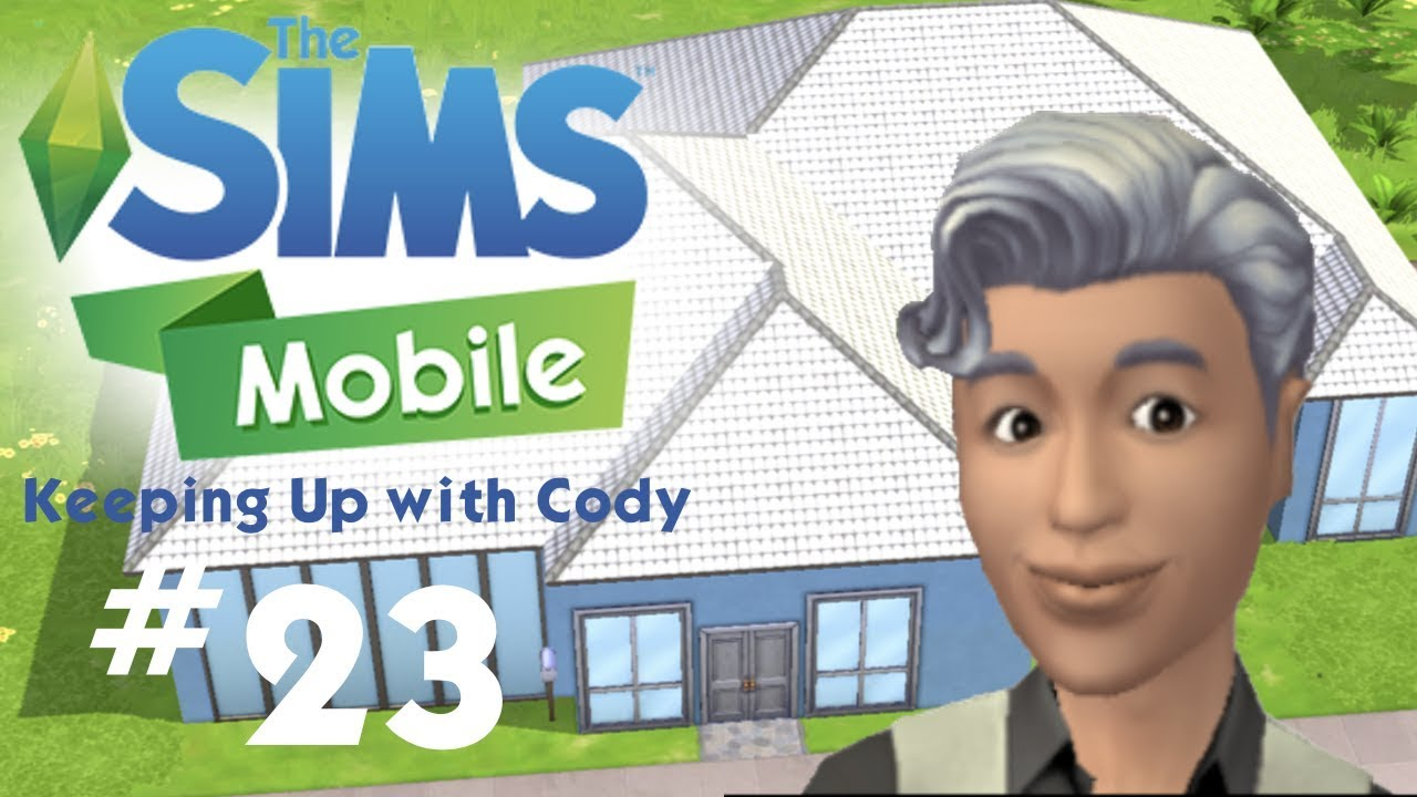 The Sims Mobile House Speed Build Remodel Keeping Up With Cody