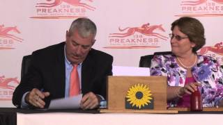 2013 Preakness Stakes Draw